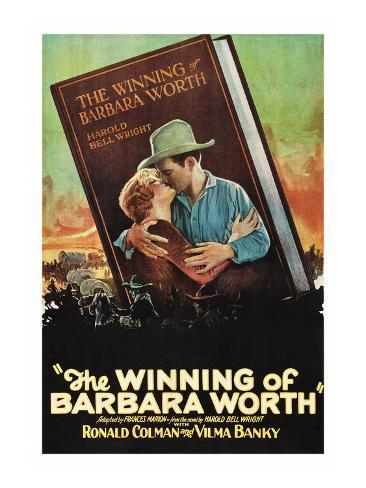 The Winning of Barbara Worth Art Print