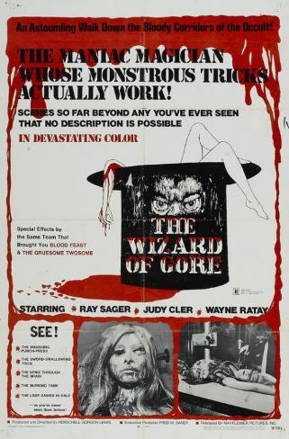 The Wizard of Gore Masterprint