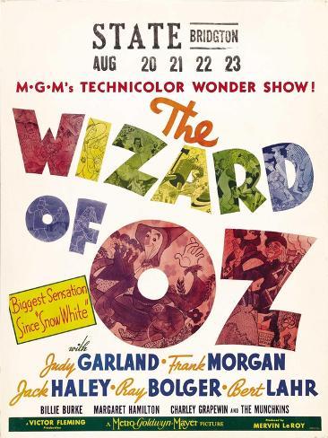 The Wizard of Oz, 1939 Konstprint