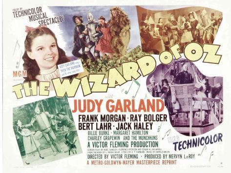 The Wizard of Oz, 1939 Lámina