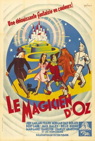 The Wizard of Oz - French Style Poster