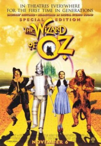 The Wizard of Oz (Judy Garland, Ray Bolger, Jack Haley) Movie Poster Double-sided poster