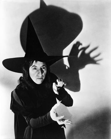 The Wizard of Oz, Margaret Hamilton, 1939 Photo