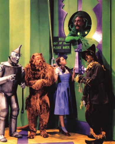 The Wizard of Oz Movie (Group in Oz) Glossy Photo Photograph Print Impressão fotográfica emoldurada