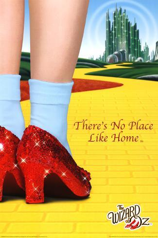The Wizard of Oz - There's No Place Like Home Póster