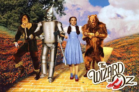 The Wizard of Oz - Yellow Brick Road Poster