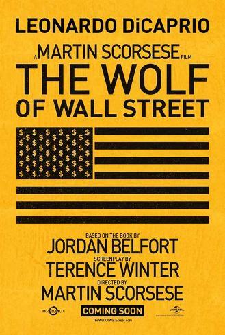 The Wolf of Wall Street Masterprint
