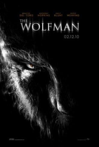 The Wolman (Benecio Del Toro, Anthony Hopkins, Emily Blunt) Movie Poster Double-sided poster