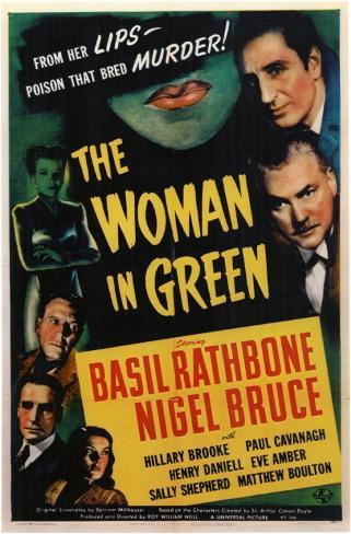 The Woman in Green Masterprint