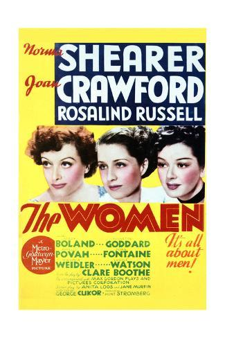 The Women - Movie Poster Reproduction Art Print