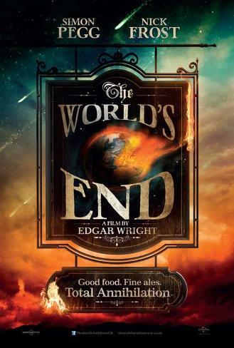 The World's End Movie Poster Stampa master