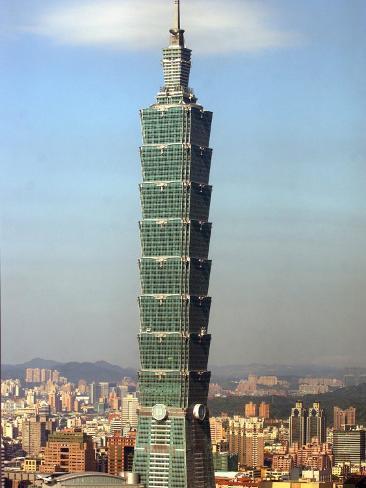 The World's Tallest Building the Taipei 101 Valokuvavedos