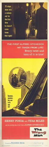 The Wrong Man, 1957 Konstprint
