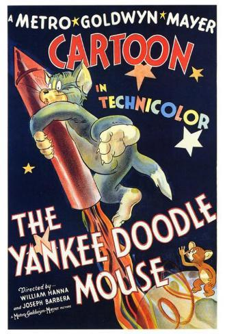 The Yankee Doodle Mouse Poster