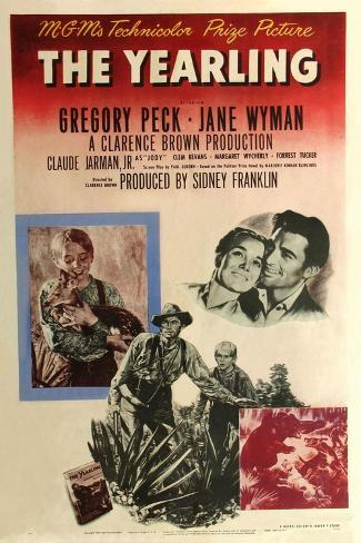 The Yearling, 1946 Gicléetryck