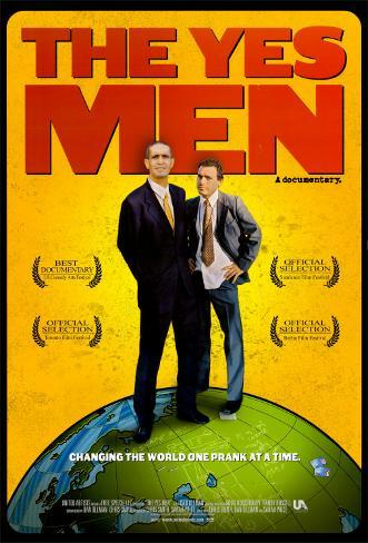The Yes Men Pôster