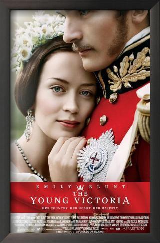 The Young Victoria Impressão artística emoldurada
