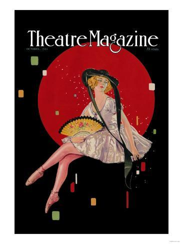 Theatre Magazine Art Print