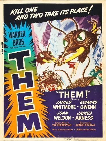 Them!, US poster art, 1954 Art Print