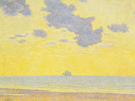 Big Clouds, 1893 Impressão giclée