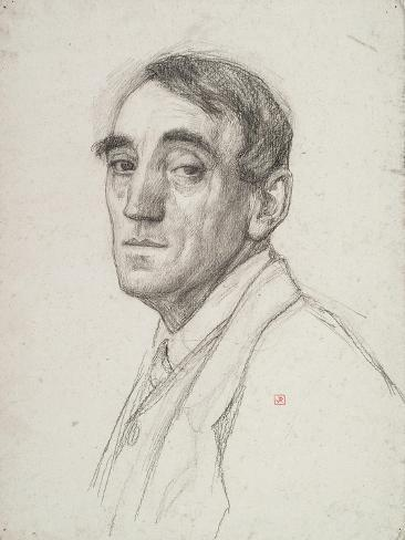 Self Portrait, 1916 Impressão giclée
