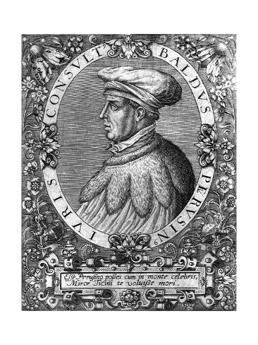 Petrus Baldus de Ubaldis Giclee Print