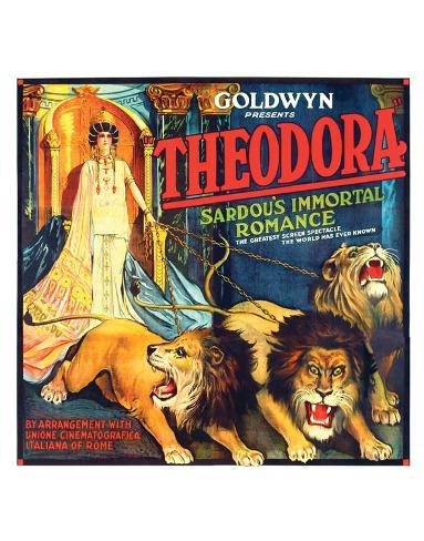 Theodora - 1919 ジクレープリント