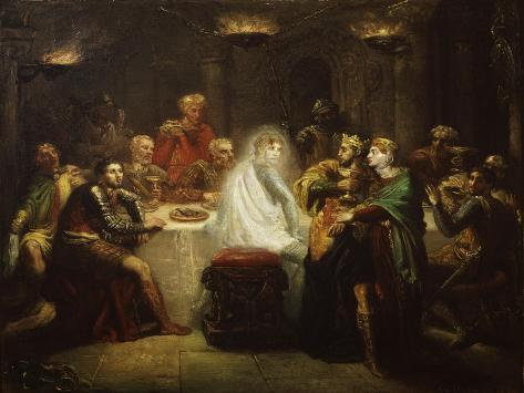 Banquo's Ghost from Macbeth, by William Shakespeare Giclee Print