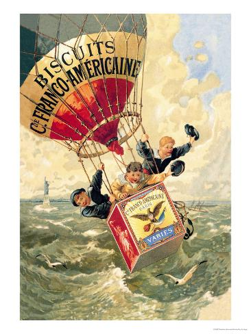 Biscuits Franco-Americaine, c.1888 Art Print