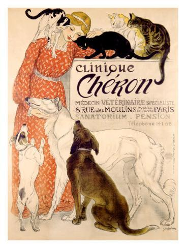 Clinique Cheron, c.1905 Giclee Print