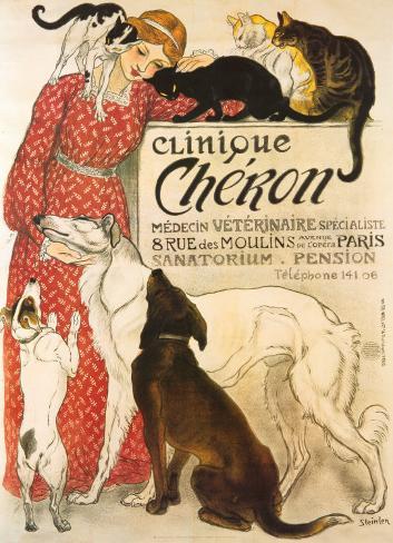Clinique Cheron, c.1905 Stretched Canvas Print