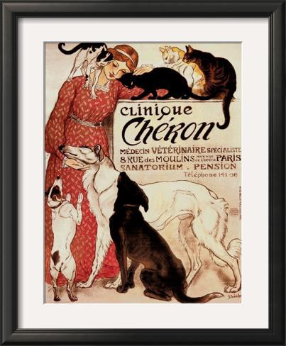 Clinique Cheron, c.1905 Framed Art Print