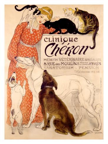 Clinique Cheron Giclee Print