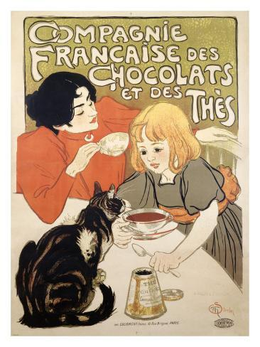 Compagnie Francaise des Chocolats et Thes Giclee Print