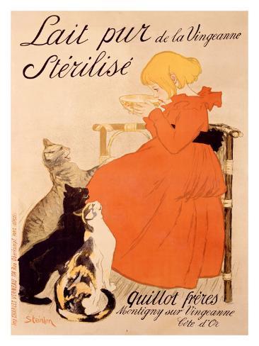 Lait Pur Sterilise Cats Giclee Print