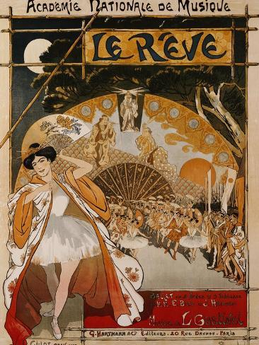 Le Reve, 1891 Lámina giclée