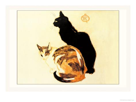 Les Chats Art Print