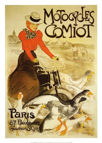Motocycles Comiot Art Print