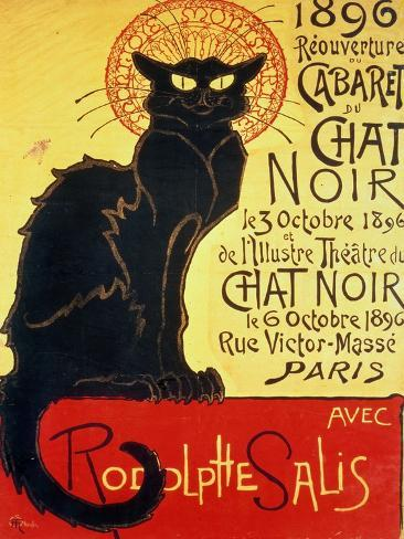 Reopening of the Chat Noir Cabaret, 1896 Giclee Print