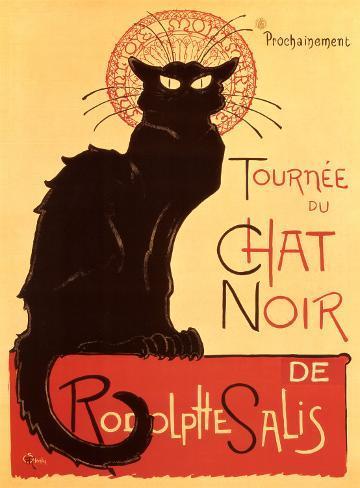 Tournée du Chat Noir, c.1896 Art Print
