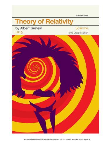 Theory Of Relativity Art Print