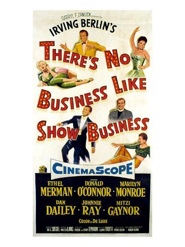 There's No Business Like Show Business, 1954 Photo