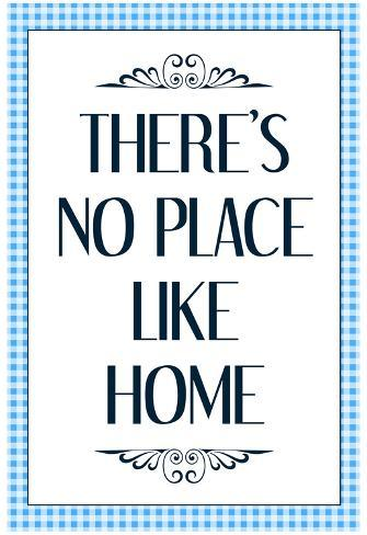 There's No Place Like Home - Wizard of Oz Poster