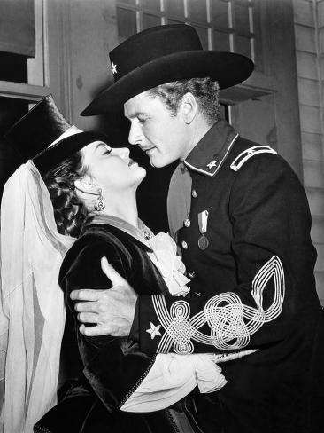 They Died With Their Boots On, Olivia De Havilland, Errol Flynn, 1941 Foto