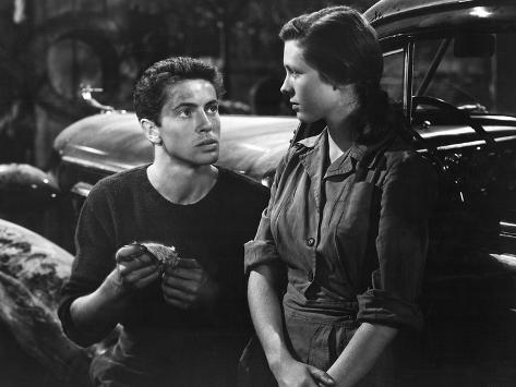 They Live By Night, Farley Granger, Cathy O'Donnell, 1949 Foto