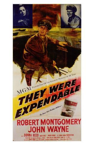 They Were Expendable, 1945 Masterprint