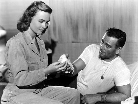 They Were Expendable, Donna Reed, John Wayne, 1945 Photo
