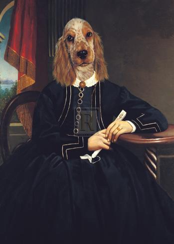 Ancestral Canines IV Art Print