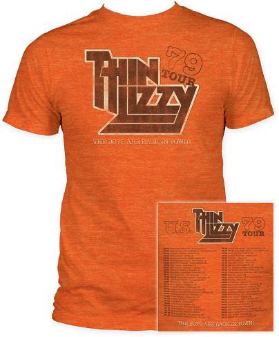 Thin Lizzy - 79' Tour T-Shirt