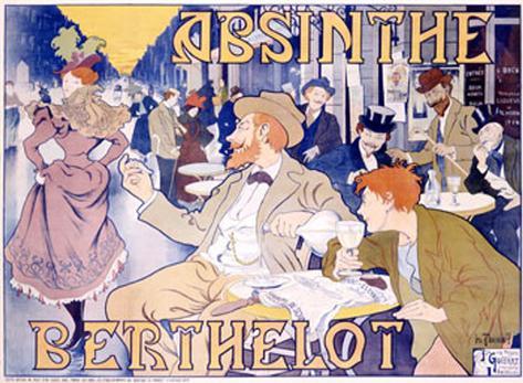 Absinthe Berthelot Giclee Print